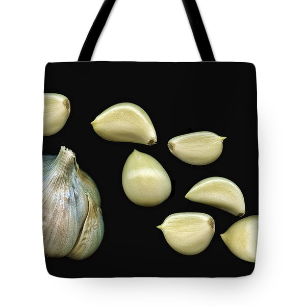 Garlic Cloves Tote Bag