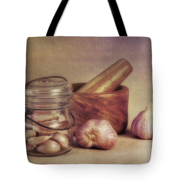 Garlic In A Jar Tote Bag