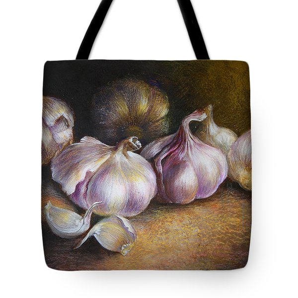 Garlic Painting Tote Bag