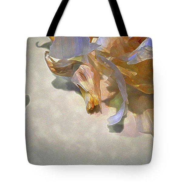 Garlic Skin Gossamer Tote Bag