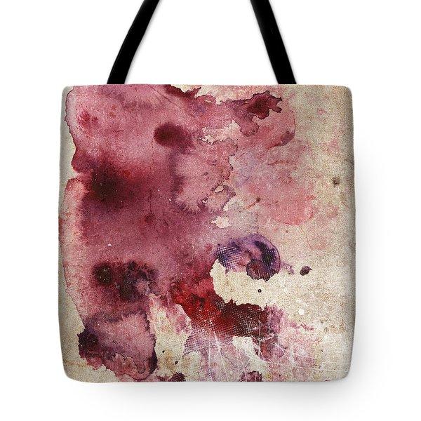 Garnet Color Splash Tote Bag
