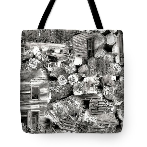 Garnet Montana Tote Bag by Susan Kinney