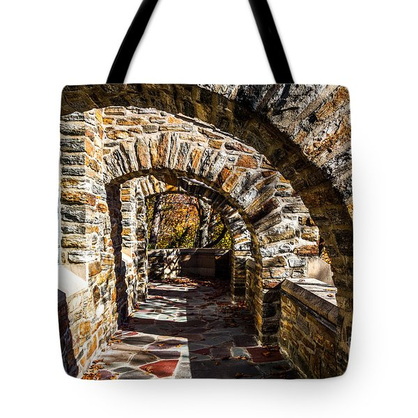 Tote Bag featuring the photograph Garrett Chapel Balcony by William Norton