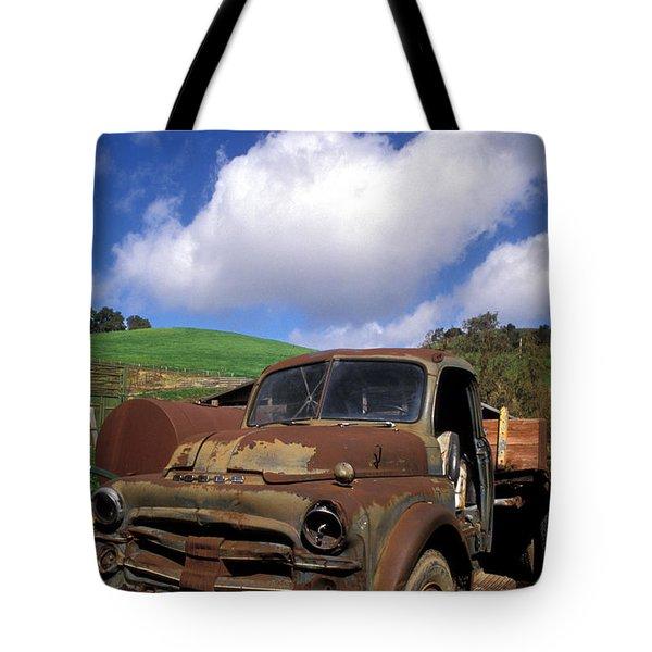 Garrod's Old Truck Tote Bag by Kathy Yates