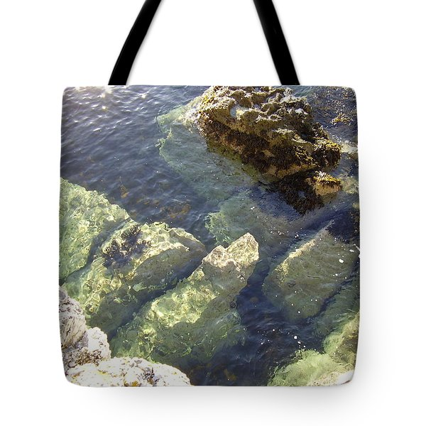 Garron Point Rock Pool Tote Bag