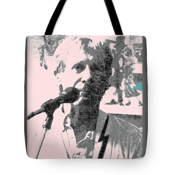 Tote Bag featuring the photograph Gary Bertz by Jesse Ciazza