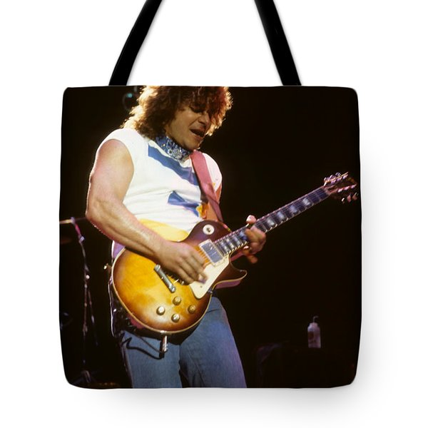 Gary Richrath Of Reo Speedwagon Tote Bag