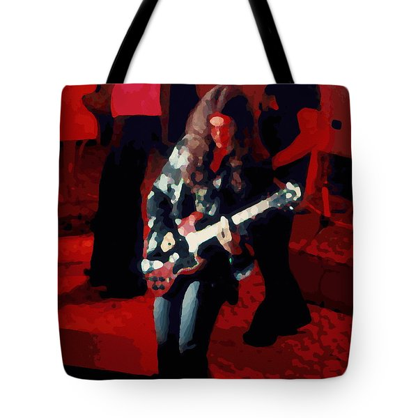 Tote Bag featuring the photograph G R Winterland 1 by Ben Upham