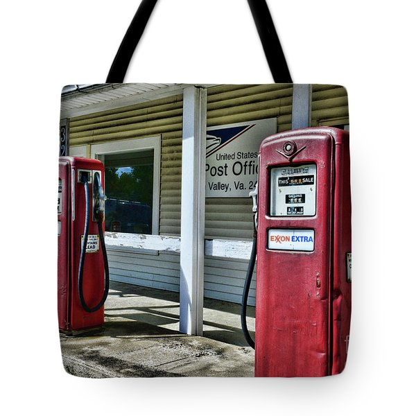 Tote Bag featuring the photograph Gas And Mail 1 by Paul Ward