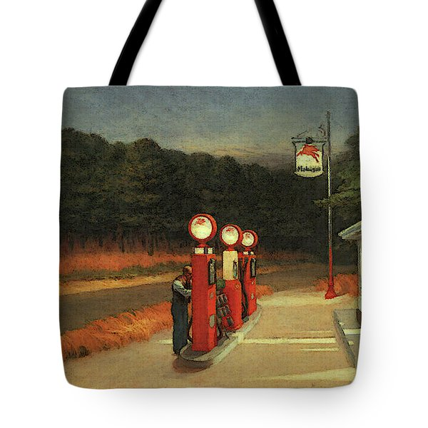 Gas  Tote Bag