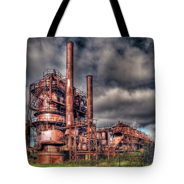 Gas Works Park - Seattle Tote Bag