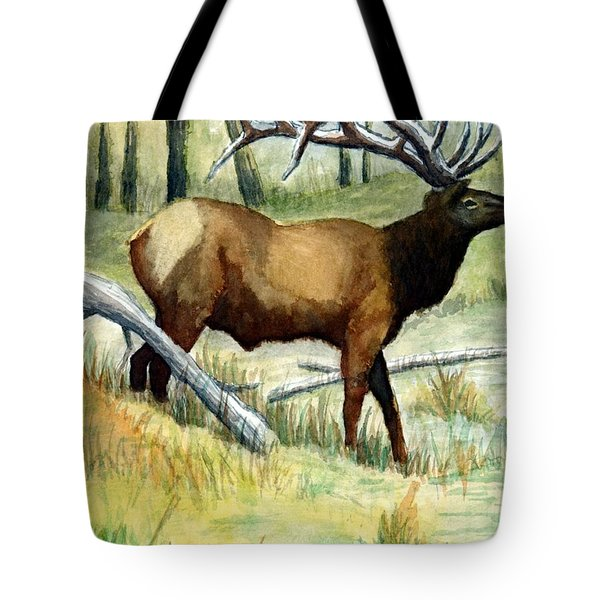 Gash Flats Bull Tote Bag by Jimmy Smith