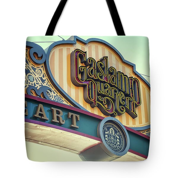 Gaslamp Close Up Tote Bag