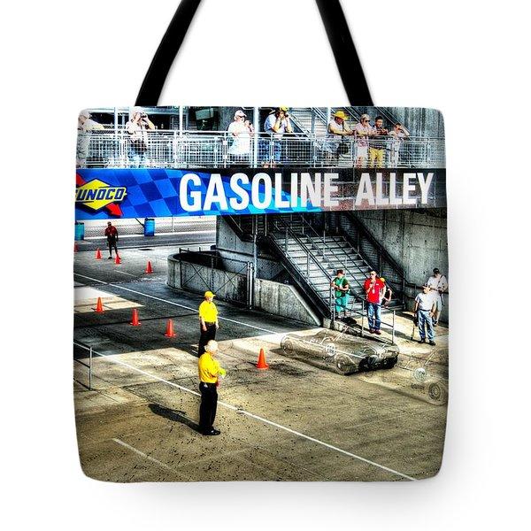 Gasoline Alley Tote Bag