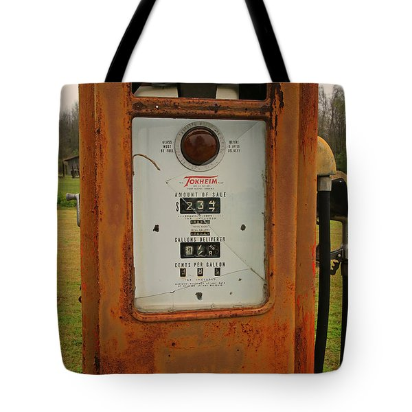 Gasoline Pump Tote Bag