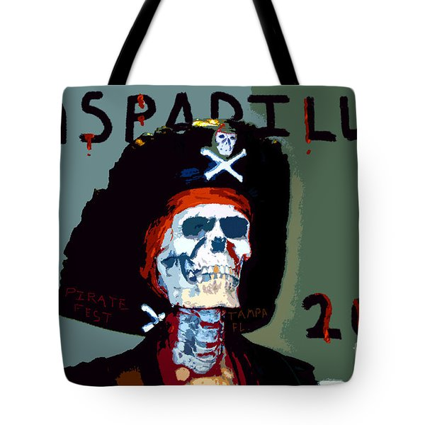 Gasparilla 2011 Work Number Two Tote Bag by David Lee Thompson
