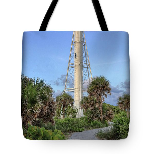 Tote Bag featuring the photograph Gasparilla Island Lighthouse 2 by Donna Kennedy