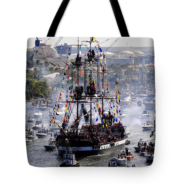 Gasparillas Wild Crew Tote Bag by David Lee Thompson