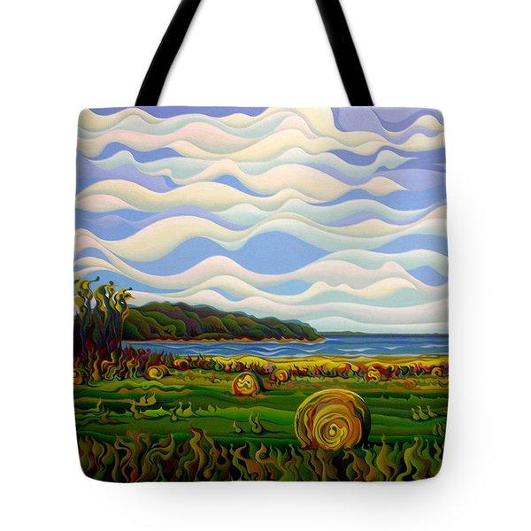 Gaspe's Grand Serenousphere Tote Bag