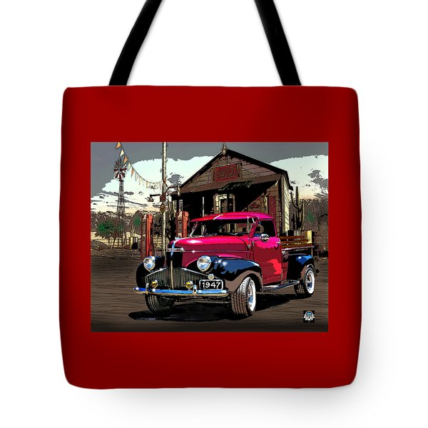 Gassed Up And Ready Tote Bag