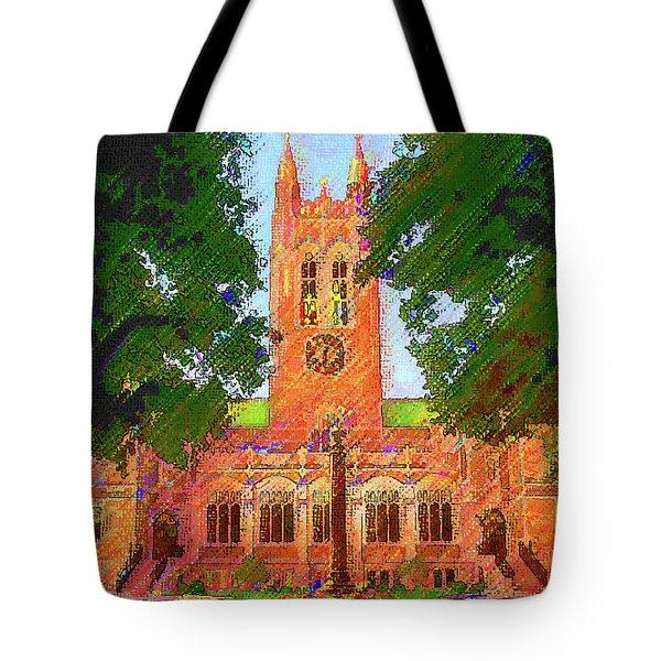 Gasson Hall  Tote Bag