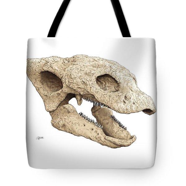 Gastonia Burgei Skull Tote Bag