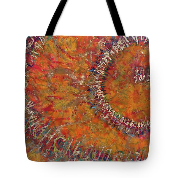 Tote Bag featuring the mixed media Gate Of Nimrod by Eva Konya