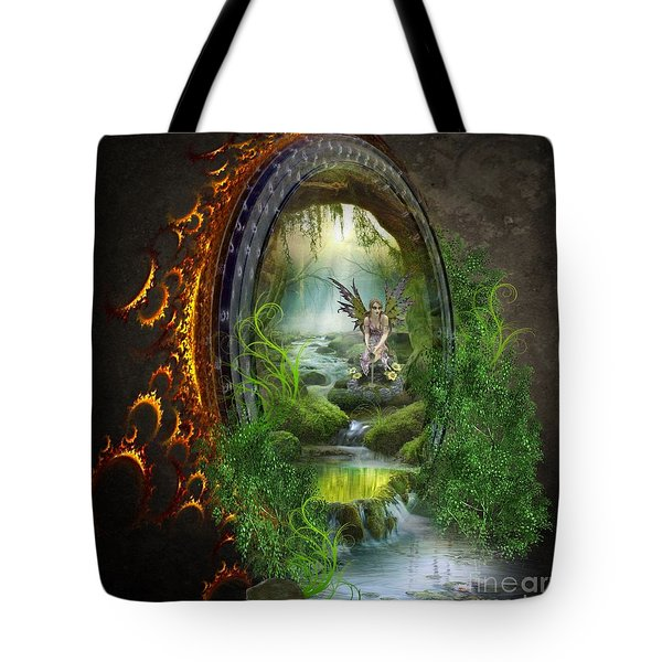 Gate To Another World Tote Bag