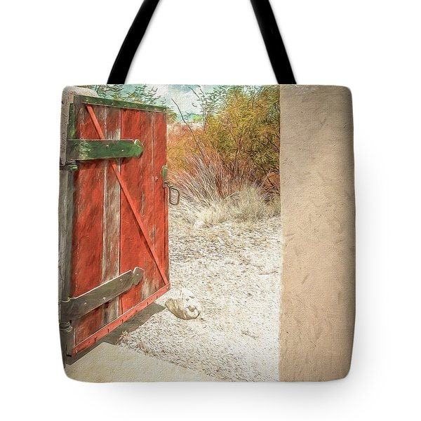 Gate To Oracle Tote Bag