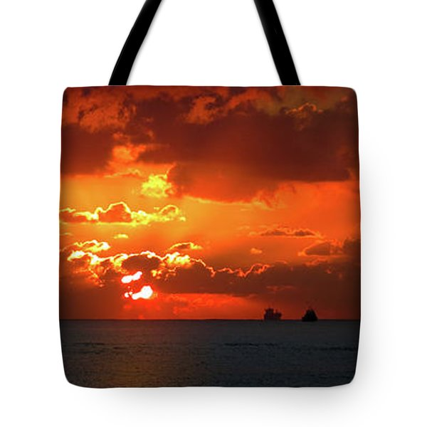 Gate To The Americas Tote Bag