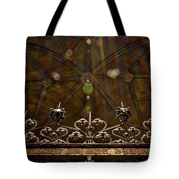 Gate To The Holy Spirit Chapel Tote Bag