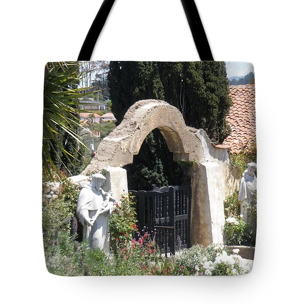Gate Way To Heaven Tote Bag
