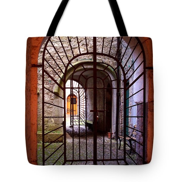 Gated Passage Tote Bag