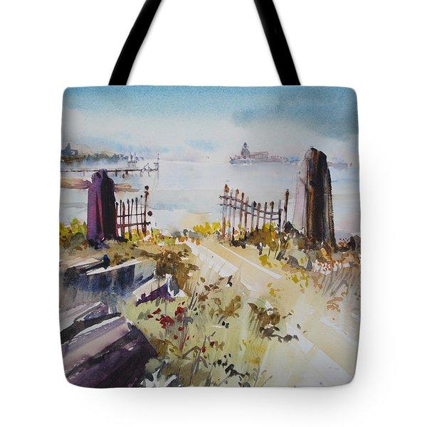 Gated Shore Tote Bag