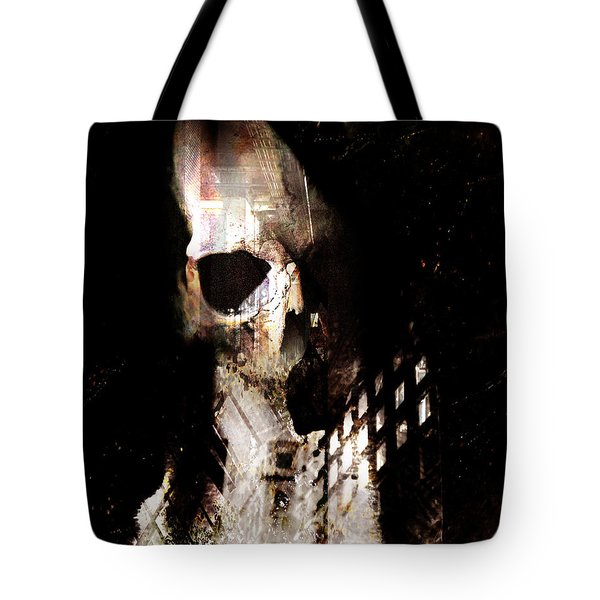 Tote Bag featuring the photograph Gates by Ken Walker