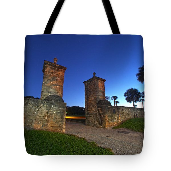 Gates Of The City Tote Bag by Robert Och