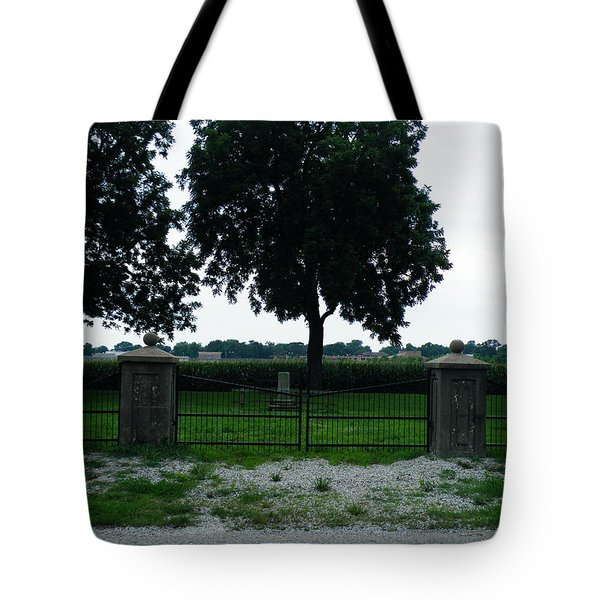 Gates Of Youth Cemetery Tote Bag