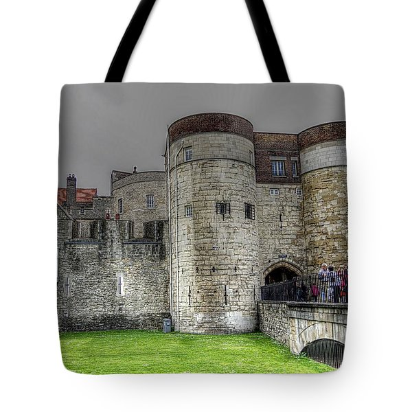 Gates To The Tower Of London Tote Bag