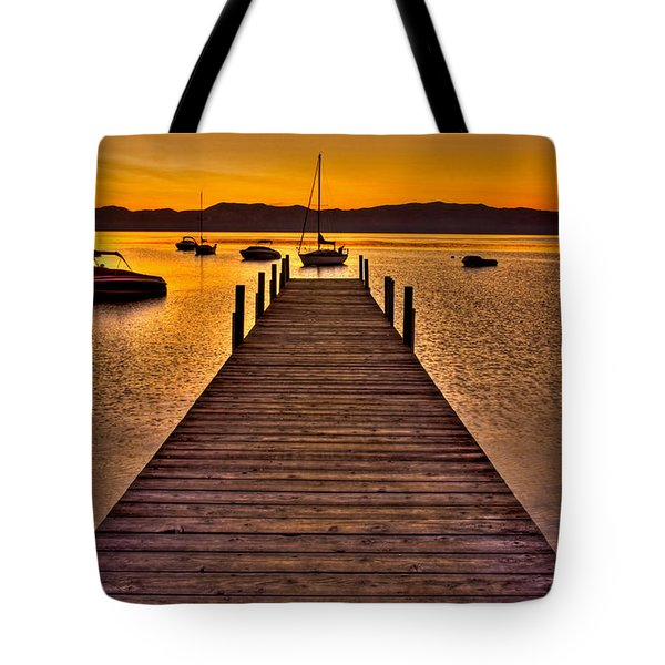 Gateway Tote Bag by Scott Mahon