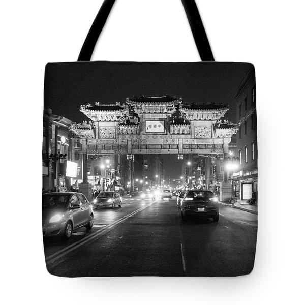 Gateway To Chinatown Tote Bag