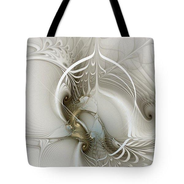 Gateway To Heaven-fractal Art Tote Bag
