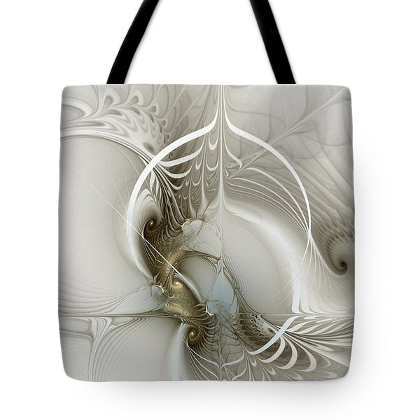 Gateway To Heaven-fractal Art Tote Bag
