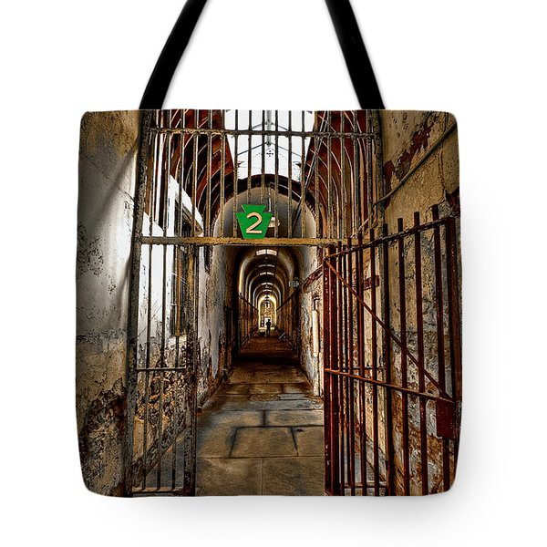 Gateway To Hell Tote Bag by Evelina Kremsdorf