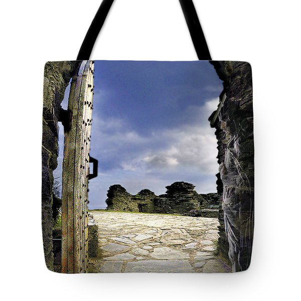 Gateway To The Castle  Tote Bag