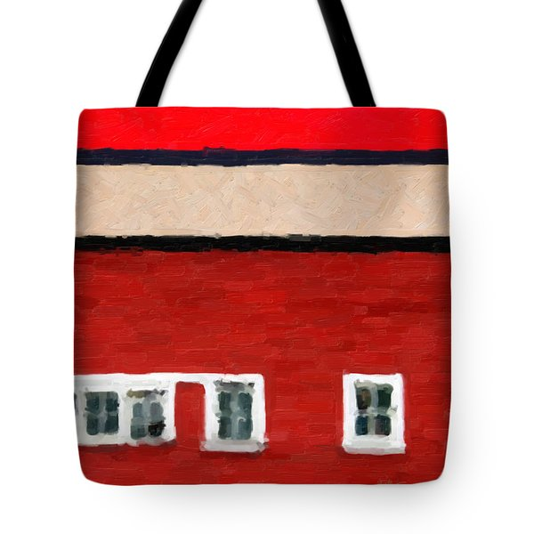 Tote Bag featuring the digital art Gateways And Portals No. 2 by Serge Averbukh