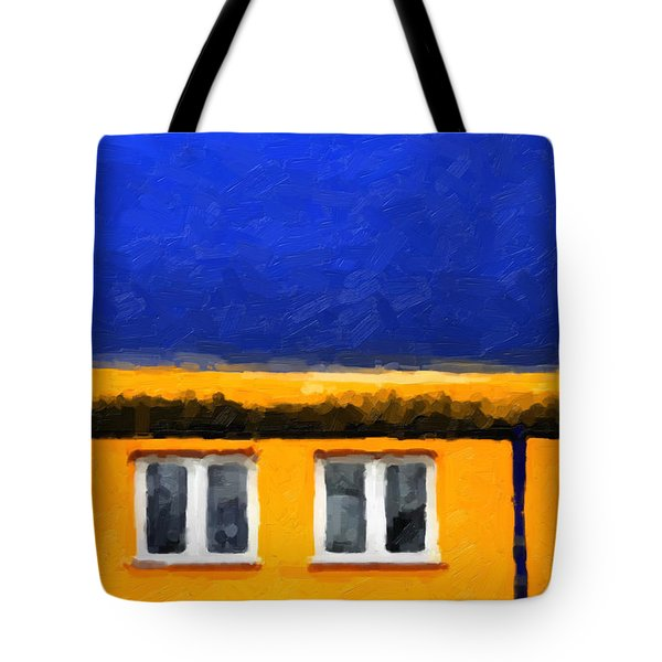 Tote Bag featuring the digital art Gateways And Portals No. 3 by Serge Averbukh