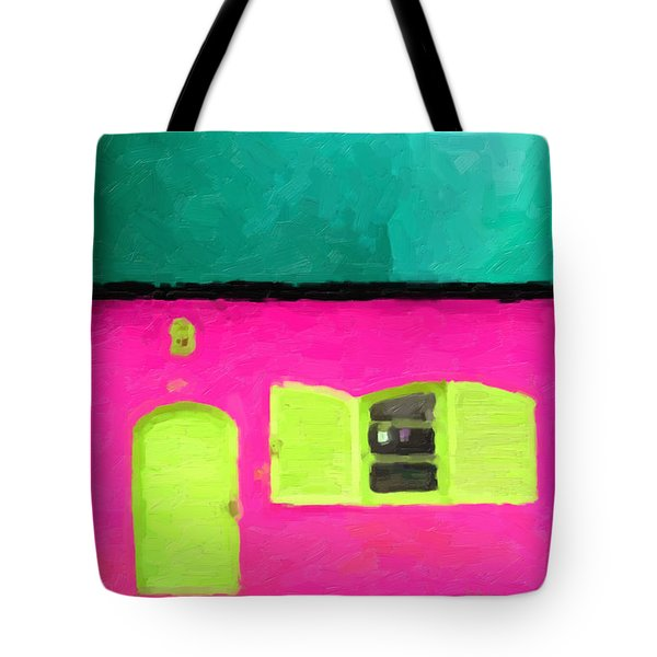 Tote Bag featuring the digital art Gateways And Portals No. 4 by Serge Averbukh