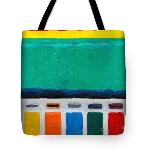 Tote Bag featuring the digital art Gateways And Portals No.1 by Serge Averbukh