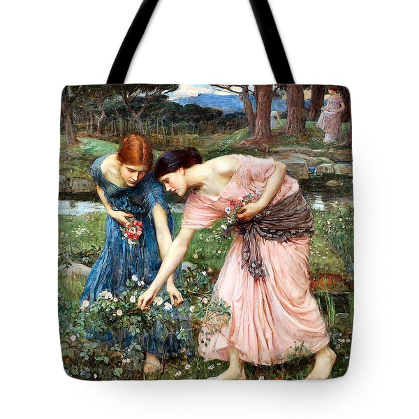 Gather Ye Rosebuds While Ye May Tote Bag