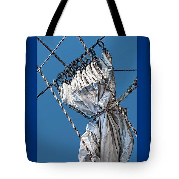 Gathered Sail Tote Bag